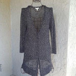 Eileen Fisher long open sweater Large